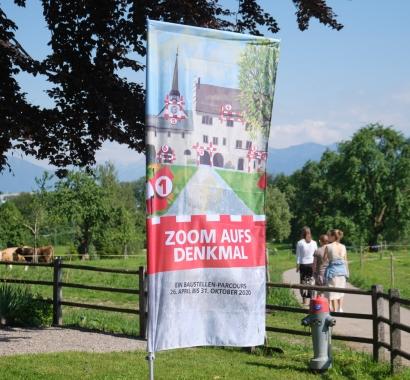 Zoom auf das Denkmal. Bild: living-in-a-box.ch