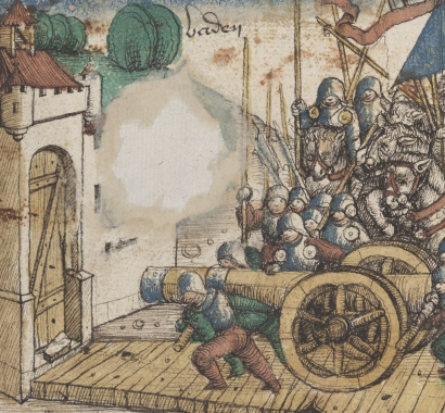 Edlibach Chronik Angriff auf Baden