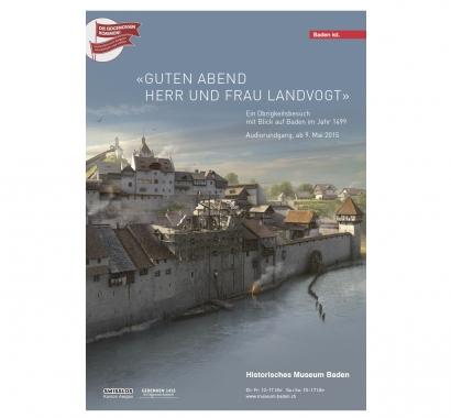 «Guten Abend Herr und Frau Landvogt» Plakat