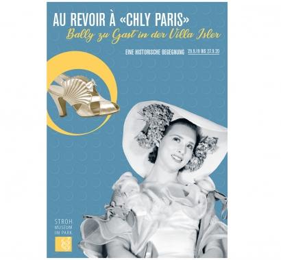 Flyer Au Revoir à Chly Paris