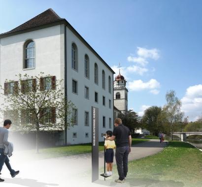 Museum Insel Rheinau Visualisierung Inselspatziergang